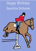 Equestrian-Happy Birthday 1